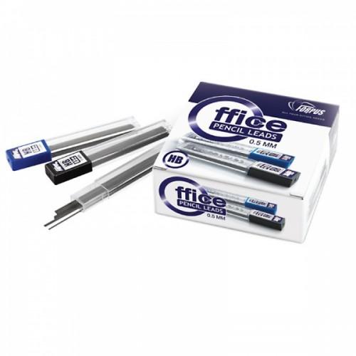 Грифели для механических карандашей 0,5 мм HB FO51101