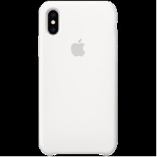 Чехол на iPhone XS Silicone Case - White, Model