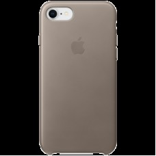 Чехол для iPhone 8 / 7 Leather Case - Taupe