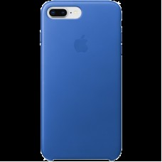 Чехол для iPhone 8 Plus / 7 Plus Leather Case - Electric Blue