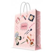 Бумажный пакет Настоящая леди для сувенирной продукции , с ламинацией, с / 17.8х22.9х9.8см арт.76483