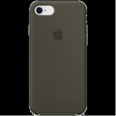 Чехол для iPhone 8 / 7 Silicone Case - Dark Olive