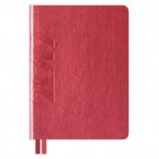 Ежедневник датированный НАППА красный металлик арт.47710/15  (А6+, 126х174, 352 стр.)