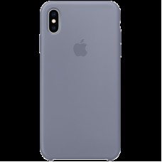 Чехол на iPhone XS Max Silicone Case - Lavender Gray, Model