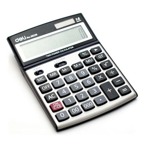 Калькулятор 14 разрядов настольный арт. 39229 (Deli)