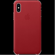 Чехол на iPhone XS Leather Case - (PRODUCT)RED, Model