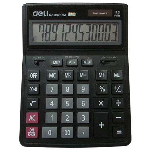 Калькулятор 12 разрядов настольный арт. 39267М (Deli)