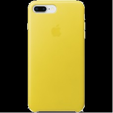 Чехол для iPhone 8 Plus / 7 Plus Leather Case - Spring Yellow