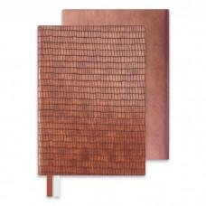 Бизнес-блокнот АНАКОНДА коричневый коричневый арт.47675 (А5, 146x211, 192 стр.)