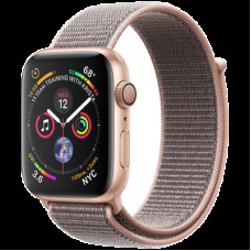 Умные часы Apple Watch Series 4 GPS, 40mm Gold Aluminium Case with Pink Sand Sport Loop, Model A1977