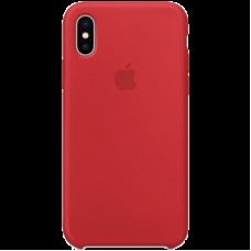 Чехол для iPhone X Silicone Case - (PRODUCT)RED