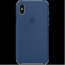 Чехол для iPhone X Silicone Case - Blue Cobalt