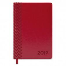 Ежедневник датированный бордовый арт.47546/15 САРИФ (А5, 146х211 мм, 352 стр.)