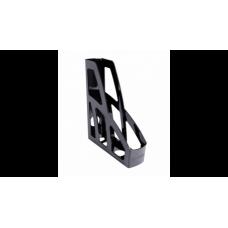 Лоток вертикальный ЛИДЕР черный, арт. ОФ100