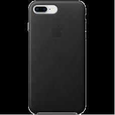 Накладной чехол Apple Leather Case для IPhone 8 Plus/7 Plus Black / MQHM2ZM/A