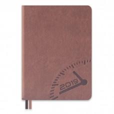 Ежедневник датированный БУЙВОЛ мокко арт.47707/15 (А6+, 126х174, 352 стр.)