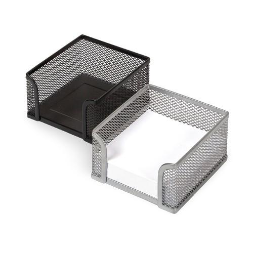 Подставка настольная для бумажного блока FORPUS, металл (сетка), 95x95х52мм