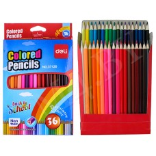 Карандаши цветные 36 цв DELI 37126