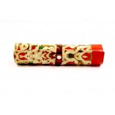 """Пенал-органайзер """"Цветочный узор"""" арт.41044/25 (25*20см, для хранения мелких предметов, из ПВХ (без"""