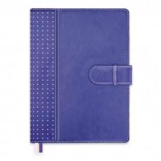 Ежедневник-органайзер полудатированный А5+, 192л, арт.47537 фиолетовый