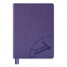 Ежедневник датированный БУЙВОЛ фиолетовый арт.47704/15 (А6+, 126х174, 352 стр.)