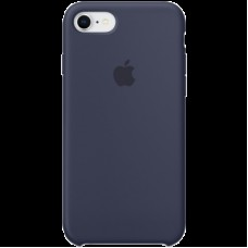 Накладной чехол Apple Silicone Case для IPhone 8/7 Midnight Blue / MQGM2ZM/A