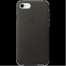 Чехол для iPhone 8 / 7 Leather Case - Charcoal  Gray