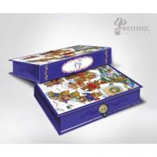 Коробка подарочная МЕДВЕЖАТА-S 18х12х5 см арт.41788