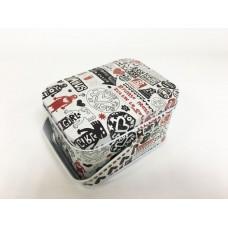 Коробка для безделушек и мелочей Урбанистика арт. 43695 (10,5х8х6см из черного окрашенного металла)
