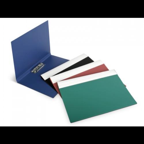 Папка пластиковая с боковым зажимом Forpus, толщина пластика 0,5 мм, розовая