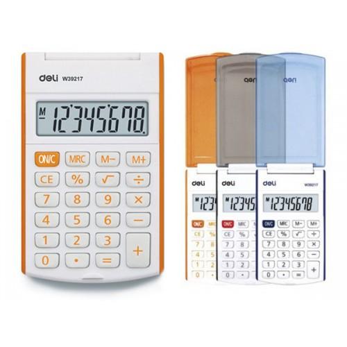 Калькулятор 8 разрядов карманный арт. 39217 (Deli)