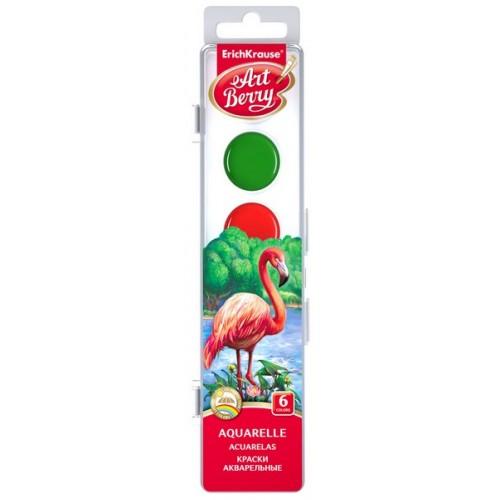 Акварель медовая Artberry с УФ защитой яркости 06 цветов арт.41723