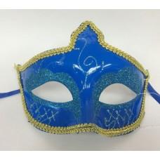 "Карнавальная маска ""Русалка"" из пластика (ПВХ) арт.75230"