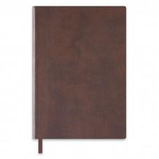 Ежедневник датированный тёмно-коричневый арт.47420/15 ТРАВЕРТИН (А5, 142х209, 352 стр)