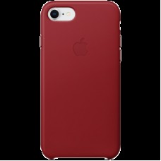 Накладной чехол Apple Leather Case для IPhone 8/7 Red / MQHA2ZM/A