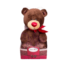 Игрушка мягконабивная Choco с сердцем 30 С003/30