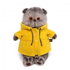 """Игрушка мягконабивная Басик в желтой куртке """"B&Co"""" Ks19-084"""