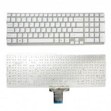 Клавиатура для ноутбуков  Sony Vaio VPC-EE WHITE, WITH FRAME big enter