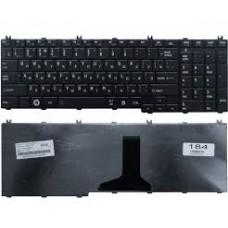 Клавиатура для ноутбуков  Toshiba C650, C655, C660, C665, L650, L655, L670, черная
