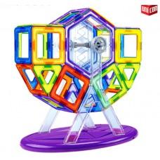 Магнитный конструктор Magical Magnet, 46 деталей, детали матовые