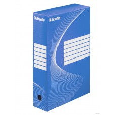"""Коробка архивная 80 мм. """"Esselte"""" синий, 128411"""