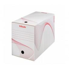 """Коробка архивная 200 мм. """"Esselte"""" белый, 128701"""