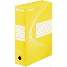 """Коробка архивная 100 мм. """"Esselte"""" желтый, 128423"""