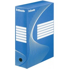 """Коробка архивная 100 мм. """"Esselte"""" синий, 128421"""