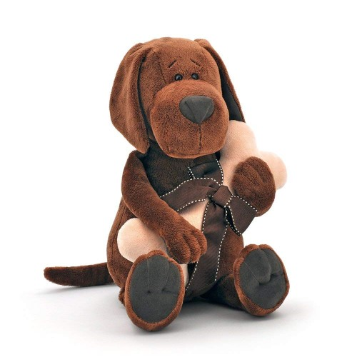 Игрушка  *Life  Пёс Барбоська с косточкой 30 OS071/30