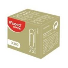 Скрепки 25 мм Maped метал., 100шт цв. Арт. 032102