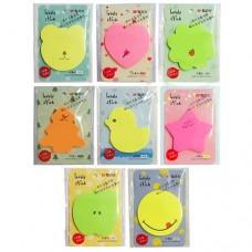 Стикеры закладки цвет, 60л, фигурные, ассорти НЕОН M&G AS33L10106
