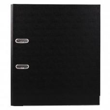 """Папка-регистратор 5см А4 """"Nixon"""" ПВХ черная N2004BK"""