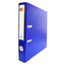 Папка-регистратор, 50мм синий Deli E39593