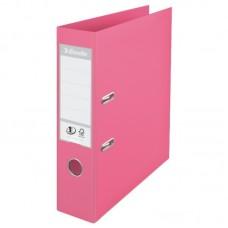 Папка-регистратор A4 ПВХ 75 мм Esselte №1 розовая арт. 231037